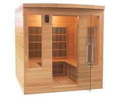 items-france APOLLON CLUB - Sauna infrarouge apollon club 4/5 places 185x185x190cm