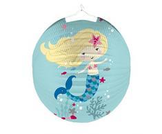 Amscan - 9903491 - Lampion Be a Mermaid - Multicolore