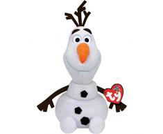 Ty - TY90152 - La Reine des Neiges - Peluche Musicale Olaf 38 cm