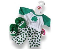 Build your Bears Wardrobe Construire Votre Ours Armoire 38 Vêtements pour Construction Grenouille Ours Polaire pour Fille avec Pantoufles