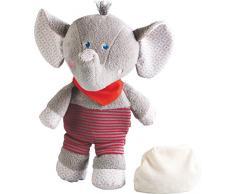 Haba 302494 – Bouillotte Peluche éléphant Emil, bébé Jouet
