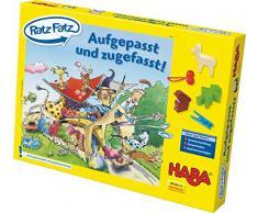 Haba - 4566 - Jeux De Societe - Jouet en Bois - Ratz Fatz