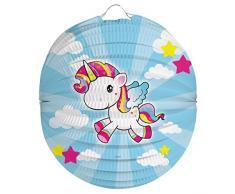 Folat 65054 Lanterne en Forme de Licorne pour Halloween 22 cm