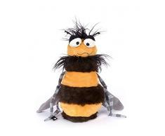 sigikid, Guêpe - Weh Weh Wasp, Beaststown - Peluche pour les Adultes & les Enfants, Jaune/Noir, 39198