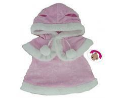 Build your Bears Wardrobe Construire Votre Ours Armoire 38,1 cm Vêtements pour Construire Un Ours Robe et Cape (Rose)