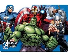 Ciao 33909 Marvel Avengers Mighty Napperon en plastique, multicolore