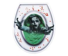 Boland BOL72225 Décoration adhésive pour WC Femme fantôme Halloween