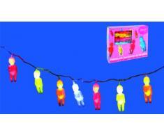 Petitcollin - 800239 - Accessoire - Ameublement et Décoration - Guirlande de 20 Bébés - Lumineuse - 2 m