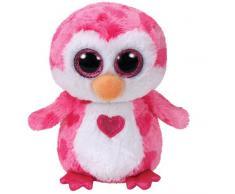 Ty - TY36865 - Beanie Boos - Peluche Juliet le Pingouin 15 cm
