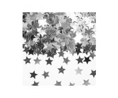 Folat 05336–15 G de confettis étoile Argent Anniversaire Décoration de Table Jubilã ? Â ¤ um