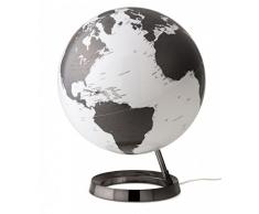 Tecnodidattica globe terrestre lumineux, Atmosphere Light, gris, 0331 F7 - version italienne