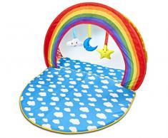 Tapis déveil et piscine à balles deux-en-un pour bébé