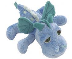 Suki Gifts LiL Peepers Dragonz Peluche, 14251, Firestorm Bleu