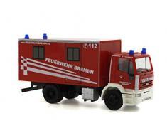 Reitze 60642 Rietze Iveco Eurotech de Cuisine Chariot FW Bremen Échelle 1/87 H0, Multi Couleur