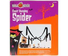 Le caoutchouc plantation TM 5050577482513 x 3 m Grande Halloween à suspendre Spider Noir film dhorreur géant plafond Décoration Prop fête, adulte, taille unique