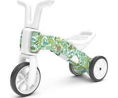 Chillafish Bunzi FAD: Porteur bebe convertible en draisienne, trotteur évolutif 2 en 1 avec siège ajustable pour enfants de 1 à 3 ans, roues silencieuses pour jouer à l'intérieur et l'extérieur, 07