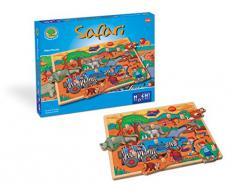 Huch & Friends 878021 Maxi Puzzle Safari, Autre bébé Jouet