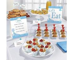 amscan 9901899 Communion Église Bleu Buffet kit