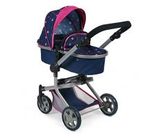 Bayer Chic 2000 595 72 Mika Stars Navy Poussette combinée Rose