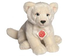 Hermann Teddy Collection - 904588 - Peluche - Lionne - 28 cm - Blanc