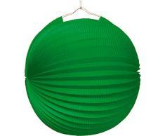 Amscan - 1523 - Lampion - Ignifugé Diamètre - 25 cm - Vert