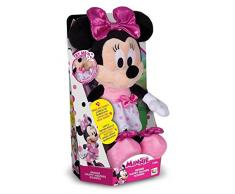IMC Toys - Minnie Happy Helpers, peluche interactive sonore - 182431 - Disney