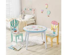 Fantasy Fields- 1 x Table montgolfière Chambre de Nourrisson Meuble en Bois pour Enfant, TD-13122A1, Multicolore