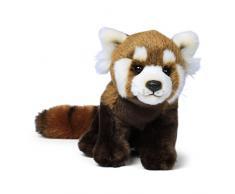WWF - Peluche Panda Roux - Peluche Réaliste avec de Nombreux Détails Ressemblants - Douce et Souple - Normes CE - 23 cm
