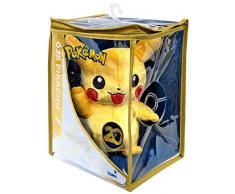 Pokémon Édition spéciale 20ème anniversaire Peluche Pikachu qui salue, 20 cm