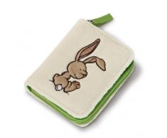 Nici 36521 – Ralf Lapin Rabbit peluche porte-monnaie, 12 x 9,5 cm