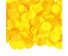 Folat feestartikelen. NL Décoration de fête Confettis Jaune 100 g Taille Unique