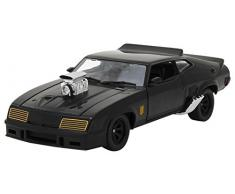Greenlight Collectibles- 1:24 Last of The V8 (1979) -1973 (84051) Miniature Voiture Ford Falcon Xb Interceptor Madmax Echelle 1/24, Noir