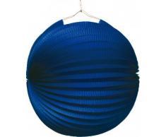 Amscan - 1524 - Lampion Bleu Ignifugé Diamètre - 25 cm