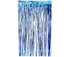 Amscan International 24200–105 91 cm X 2.43 m Lumineux Bleu Royal Rideau de Porte