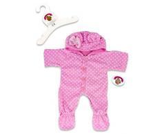 Build your Bears Wardrobe Construire Votre Ours Armoire 38 Vêtements pour Ours Construction Combinaison pour Femme (Rose)