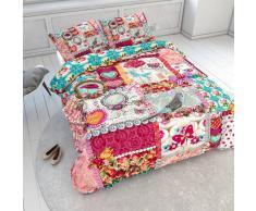 Nilmex Housse de couette pour lit enfant en coton