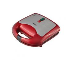 Gaufrier / croque-monsieur Proline WM10 ROUGE METAL