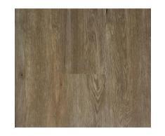 Lames PVC clipsables - Imitation parquet rustique brun (= 2.42 m)