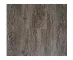 Lames PVC clipsables - Imitation parquet bois brun/gris (= 2.42 m)