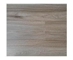 Lames PVC clipsables - Imitation parquet bois brun (= 2.42 m)