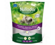 Litière Nullodor Mature Cats pour chat - 3 x 1,5 kg