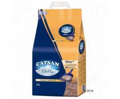 Litière Catsan Ultra pour chat 15 L