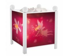 SIBYLLE - Lanterne Magique / Veilleuse Blanc H19cm - Guirlande et objet lumineux Trousselier designé par