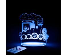 TRAIN - Lampe-veilleuse LED H17cm - Guirlande et objet lumineux Aloka designé par
