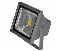 COB - Projecteur d'extérieur LED Blanc froid L18cm - Luminaire d'extérieur Lumihome designé par