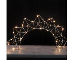 EDGE BOW - Lampe à poser Filament Chrome LED H27cm - Lampe à poser Xmas Living Glass designé par