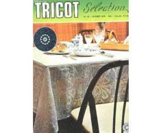 Tricot Selection - Crochet D'art / N°18 - Fevrier 1976 / Napperon Boutons D'or - Nappe A Bordure Large - Parure Ovale A Motifs D'oiseaux - Parure De Salon - Coussins Jumeaux - Napperon Les ...