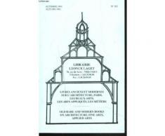 Livres Anciens Et Modernes Sur Les Beaux Arts, Les Arts Appliques Et Les Metiers N°102, Automne 1994.