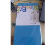 Oxford, Paquet De 25 Cartes Bleu Lagon, 106x210mm, 240gr [Fournitures De Bureau]