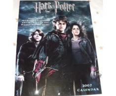 Harry Potter Calendar 2007 Calendrier Poster Art